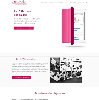 home zinnovation crm lang 2018 versie2